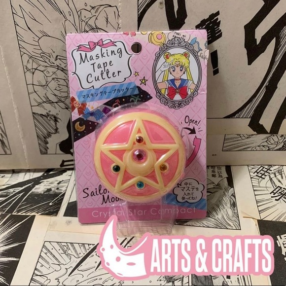 Sailor Moon Masking Tape Cutter Crystal Compact